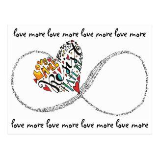 Infinity Love Postcard