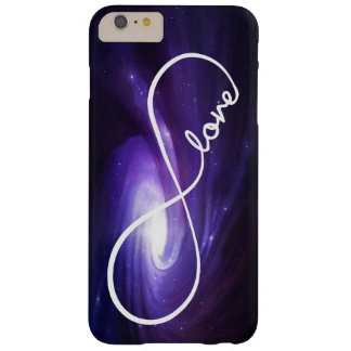 Infinity Love with Purple Nebula Barely There iPhone 6 Plus Case