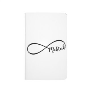 infinity maktub English pocket journal