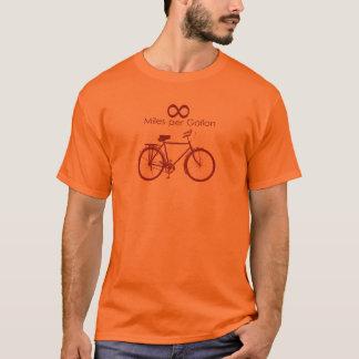 Infinity Miles Per Gallon Bike T-Shirt
