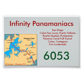 Infinity Panamaniacs Door Card Photo Print
