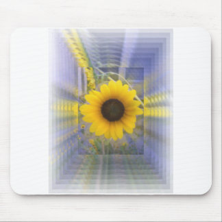 Infinity Sunflower Mouse Pad