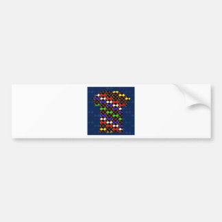 INFINITY Symbol Artistic Pattern GIFTS GREETINGS Bumper Sticker
