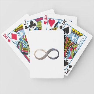 Infinity Symbol Bicycle Playing Cards