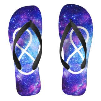 Infinity symbol nebula thongs