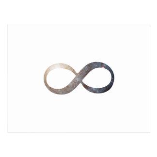 Infinity Symbol Postcard