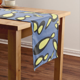 Infinity Symbol - Time Is Endless Short Table Runner