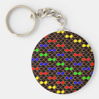 INFINITY Thoughts Spirits Planets Universes Stars Key Chain