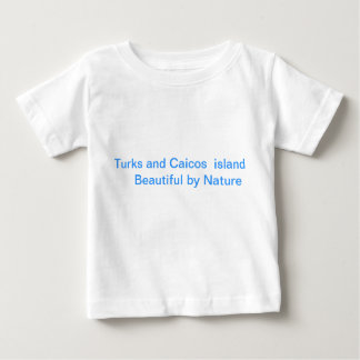 "Infinte t-shirt printed ""Turks and Caicos """