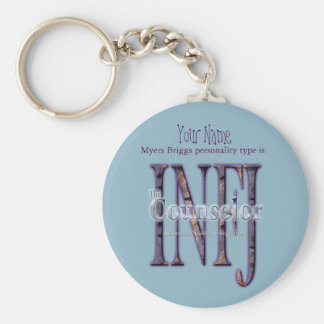 INFJ theCounselor Key Ring