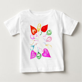 Inflatable Colorful Balloons2 Baby T-Shirt