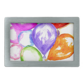 Inflatable Colorful Balloons Belt Buckles