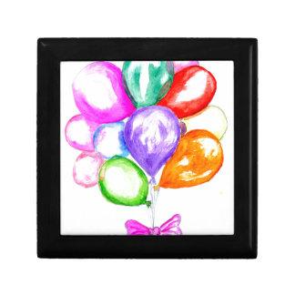 Inflatable Colorful Balloons Gift Box
