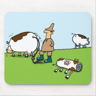 Inflatable Cows Mouse Pad