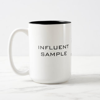 INFLUENT SAMPLE Two-Tone COFFEE MUG