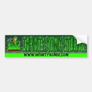 Infnity Komix, www.infinitykomix.com Bumper Sticker