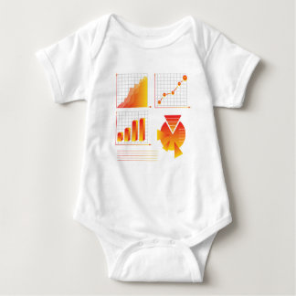 info graphic baby bodysuit
