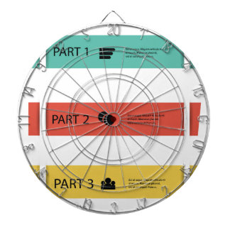 info graphic dartboard
