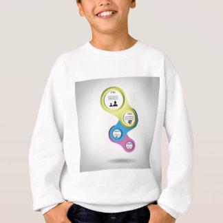 info graphic sweatshirt
