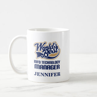 Info Technology Manager Personalized Mug Gift