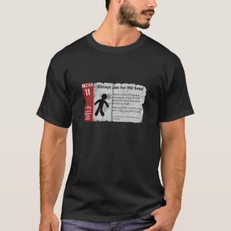 Infocard 11 - WotLD: Resurrection Edition T-Shirt