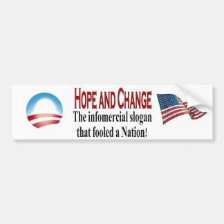 Infomercial slogan bumper sticker