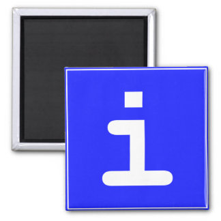 Infopoint icon square magnet