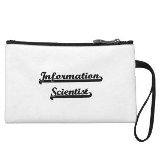 Information Scientist Classic Job Design Wristlet