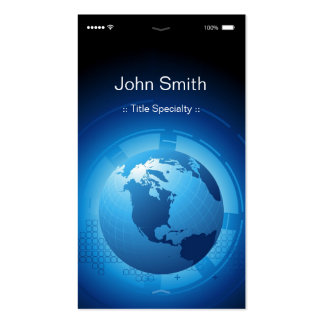 Information Technology - Cool iPhone iOS Design Pack Of Standard Business Cards