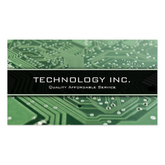 Information Technology (IT) Services Business Card
