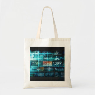 Information Technology or IT Infotech as a Art Tote Bag