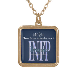 INFP theDreamer Gold Plated Necklace