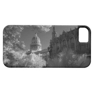Infra red of Capitol building dome in Havana iPhone 5 Cases