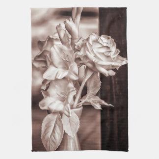 Infrared Bouquet Tea Towel