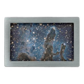 Infrared Eagle Nebula Pillars of Creation Belt Buckle