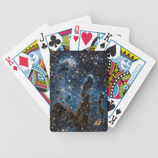 Infrared Eagle Nebula Pillars of Creation Bicycle Playing Cards