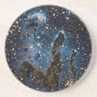 Infrared Eagle Nebula Pillars of Creation Coaster