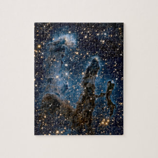 Infrared Eagle Nebula Pillars of Creation Jigsaw Puzzle
