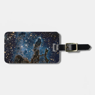 Infrared Eagle Nebula Pillars of Creation Luggage Tag