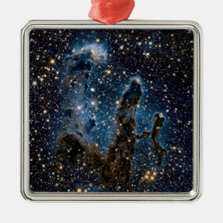 Infrared Eagle Nebula Pillars of Creation Metal Ornament