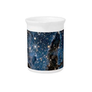 Infrared Eagle Nebula Pillars of Creation Pitcher