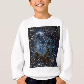 Infrared Eagle Nebula Pillars of Creation Sweatshirt