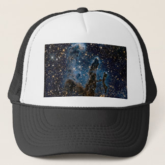 Infrared Eagle Nebula Pillars of Creation Trucker Hat