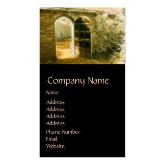 Infrared Fairy Garden Door Business Cards