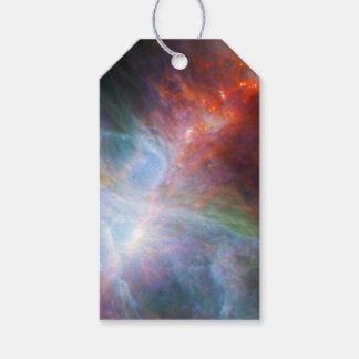 Infrared Light Orion Nebula Space Universe NASA Gift Tags