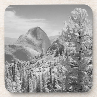 Infrared photo in East side of Yosemite National 2 Drink Coaster