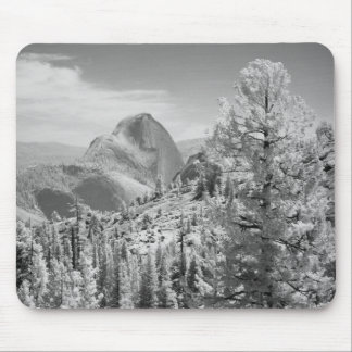 Infrared photo in East side of Yosemite National 2 Mouse Pad