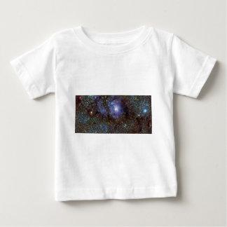 Infrared View Lagoon Nebula Messier 8 M8 NGC 6523 Baby T-Shirt