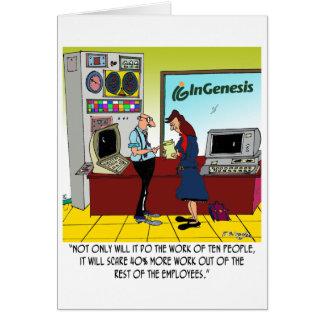 InGenesis Custom Cartoon Card