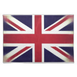Inglaterra Bandeira Grunged Suporte Para Prato